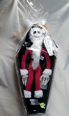 Disney Tim Burton's the nightmare before Christmas jack in coffin gift box!!