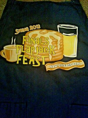 New Orleans Baptist Community Ministries Spring 2013 Finals Flapjack Feast Apron