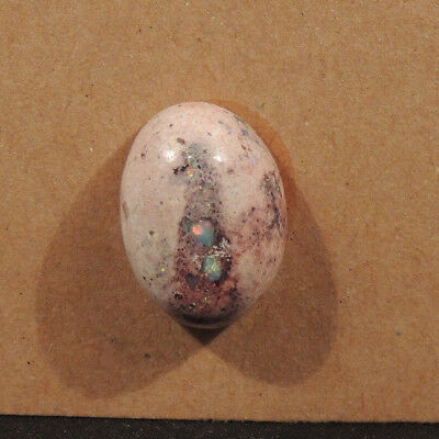 Natural Mexican Matrix Opal 18.5x13.5mm with 8.5mm dome (13156)