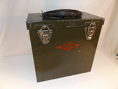 Vtg VENDING PINBALL Quality Coin Operated Machine Co CASH MONEY COLLECTION BOX
