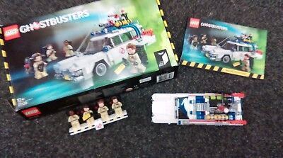 Lego Ideas 21108 Ghostbusters Ecto 1 Build Once Complete With Box Instructions