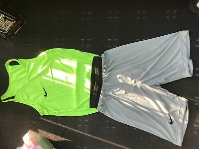 Nike boxing vests and shorts set
