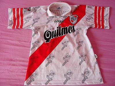 1996 - 1997 Tricampeon River Plate Shirt Supercopa Size 1 Women Children