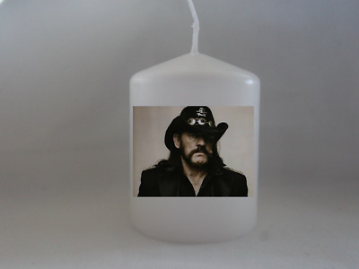 Unique Lemmy Motörhead Candle Gift