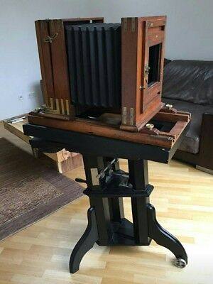 Wooden Studio Camera 30x30 - Wet Plate Collodion - Large Format