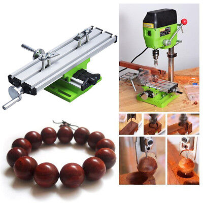Multifunctional Mini Milling Bench Drill Working Vise Table Machine Worktable