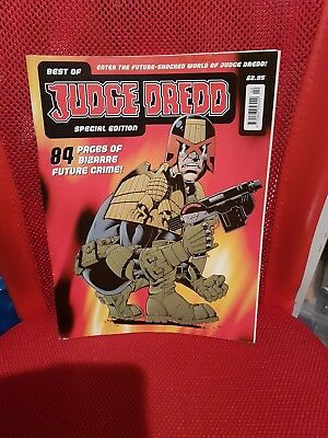 The Best Of Judge Dredd Special Edition Magazine