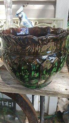 Antique Weller Vase Rare Watermellon Glazing