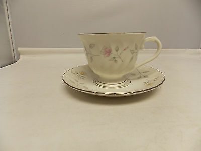 SYRACUSE Fine China Silhouette STARDUST Pattern Cup & Saucer Made in ...