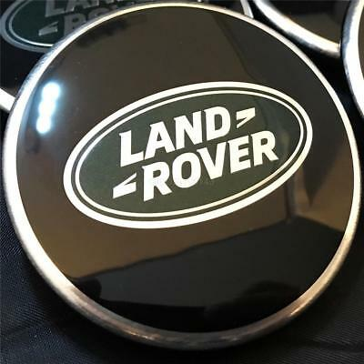LR RANGE ROVER EVOQUE Ruota Centro Disc Black /& Silver Genuine Part-LR069899