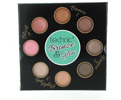 Technic Bronzing Get Your Glow On with Bronzer, Blusher & Hightlighting Powders