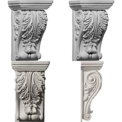 Antique Carved Corbel Shelf Mantle Bracket Dining Fireplace Room Decors Large