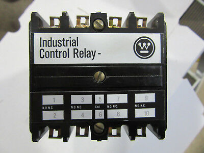 Westinghouse ARB880A Industrial Control Relay 120V Coil NEW!!! Free Shipping