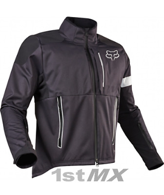 Fox Racing Legion Enduro Offroad Race Jacket Charcoal Black Adults Small