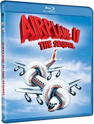 Blu Ray AIRPLANE 2 II The Sequel. Peter Graves. Region free. New sealed.