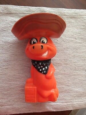 Vintage Baba Looey Bank, 1960s. Quickdraw McGraw