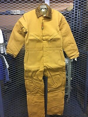 Walls Mens 42 Regular Brown Insulated Work Coveralls NWT