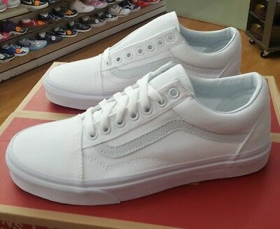 VANS OLD SKOOL True White Vn000D3Hw00 Men Us Sz 10.5 -  49.99  9862c0a3d