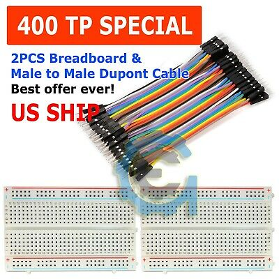 Solderless Breadboard Proto-Board 6.5x4.5 Metal Base fits HP Logic Lab 5035 Used