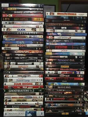 *FREE SHIPPING!* Huge Collection of 70+ ASSORTED  DVD Movies & TV