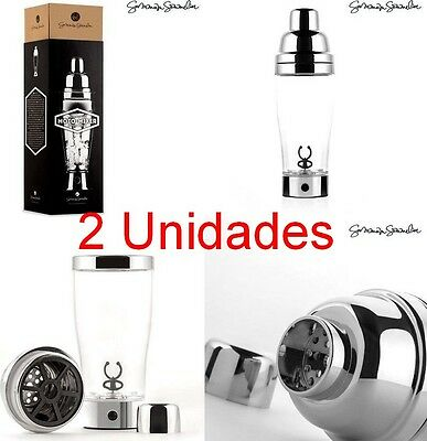 Pack 2 x Coctelera Electrica Automatica Sumum Somelier, mojitos, gin tonic, etc