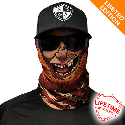 Pirateer Face Shield von SA Company *Limited Edition*