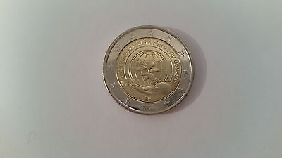 2 Euro Commemorative Belgique 2015 Annee Europeenne Du Developpement Promotion