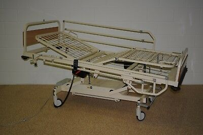 HUNTLEIGH Electric Profiling Bed Hospital Disability Care Home With Side Rails