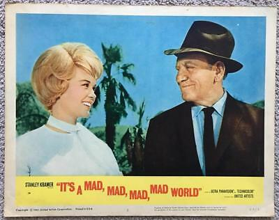 Dorothy Provine Tracy It's a Mad Mad Mad Mad World 1964 #2 Org Lobby Card 31