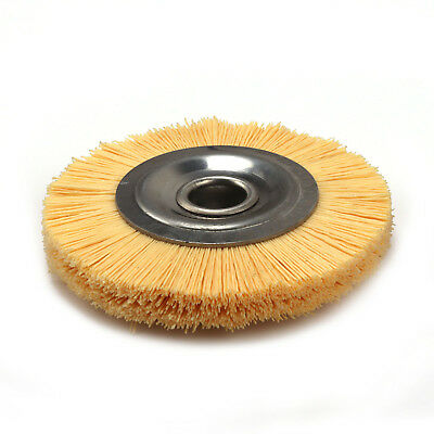 4inch Abrasive Wire Nylon Polishing wheel Brush For Furniture Polishing Grit 240