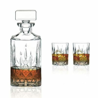 Nachtmann Crystal - Noblesse Whisky 3pc Set (Made in Germany)