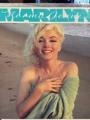 MARILYN Monroe Norma Jeane Book. Text by Gloria Steinem c1987 Glamour Hollywood