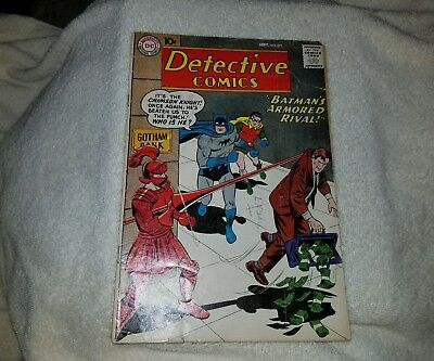 Detective Comics (1937 1st Series) 271 VG- Batman detached centerfold