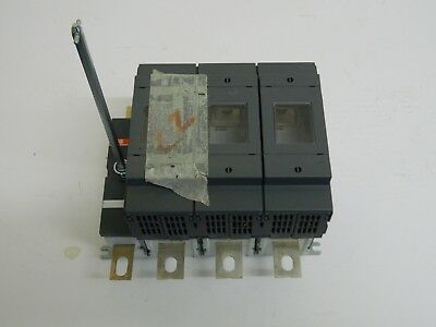 ABB OS 250B03N3 3 Phase Fused + N, Switch Disconnector 250A