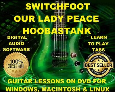 Chevelle 164 & Hoobastank 114 Guitar Tabs Software Lesson CD 24 Backing Tracks