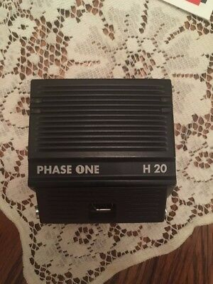 Phase One H20 digital back for Hasselblad V system