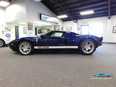 2006 Ford Ford GT Base Coupe 2-Door 2006 FORD GT MIDNIGHT BLUE PRISTINE ONE OWNER ONLY 800 MILES!