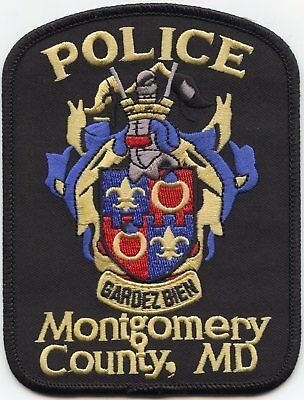 Montgomery County Maryland Md Police Patch