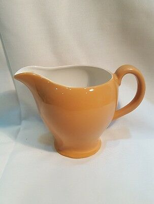 Vintage Swinnertons Nestor Vellum Moonglo Dark orange Creamer