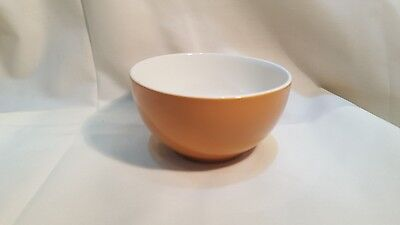 Vintage Swinnertons Nestor Vellum Moonglo sugar bowl in dark Orange
