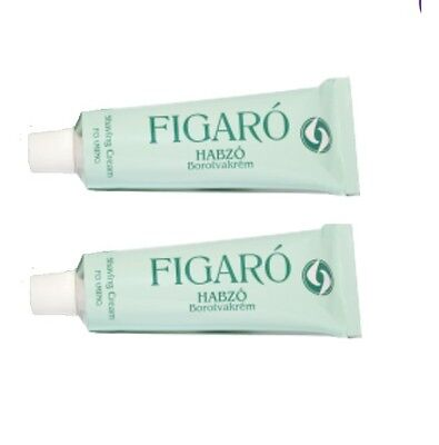 FIGARO RETRO SHAVING CREAM - 2x85ml (2*2.87oz)