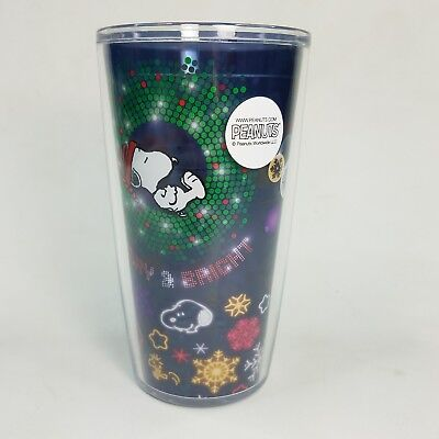 Tervis USA Peanuts Christmas Holiday 2016 Wrap 16-oz Tumbler