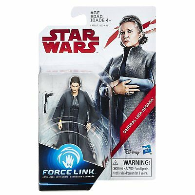 Star Wars: The Last Jedi General Leia Organa Force Link Figure 3.75 Inches
