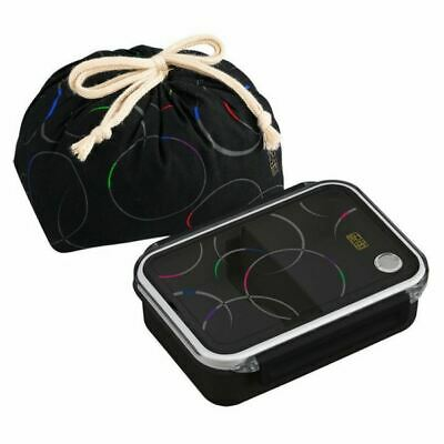 OSK traditionnelle japonaise Rabbit Moon Bento Box Set PW-28C Rouge