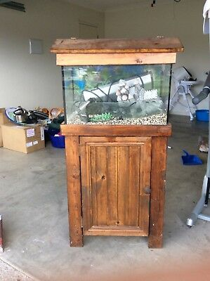Fish Tank on stand with accessories