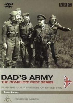 Dad'S Army=Complete Series One Dvd=2 Discs=Region 4 Australian=New And Sealed