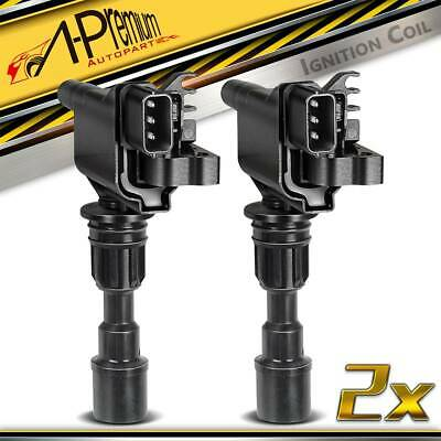 2x Ignition Coils Pack for 1998-2003 Mazda 323 Protege BJ Ford Laser KN KQ 1.6L