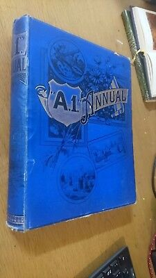 A.1. ANNUAL volume 2 (s.w.partridge) hardcover c1890s