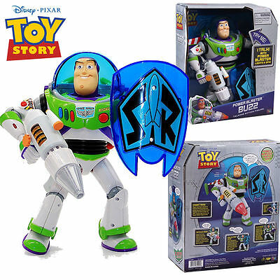 Disney Pixar Toy Story Power Blaster Buzz Lightyear 4 Mode Action Talking Doll