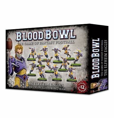 Blood Bowl - Elfheim Eagles Team Games Workshop Elfen Fantasy Football 200-36